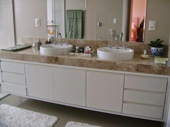 BANHEIRO DE SUÍTE ~ Rachel Avellar Interiores -> Armario Para Banheiro Suite