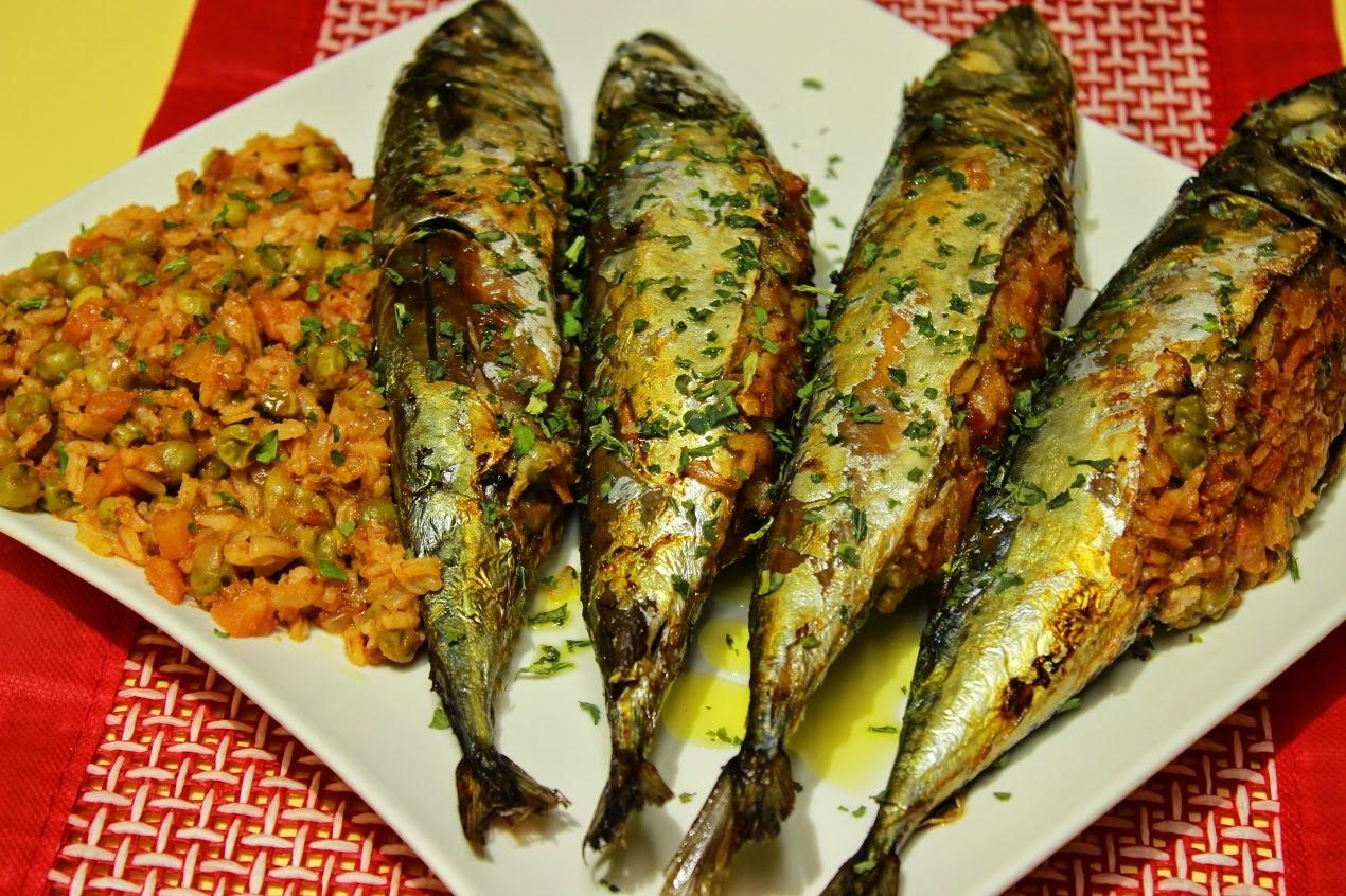 Riba punjena sa povrćem video