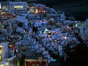 SantoriniGrécia (santorini grecia noite)