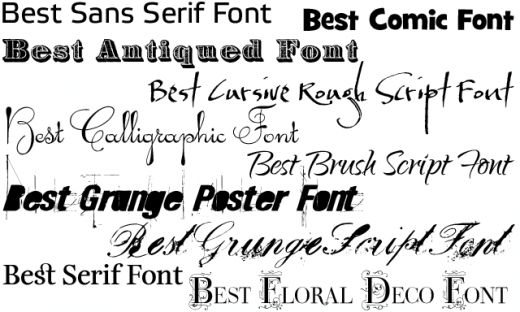 Old Tattoo Font ...