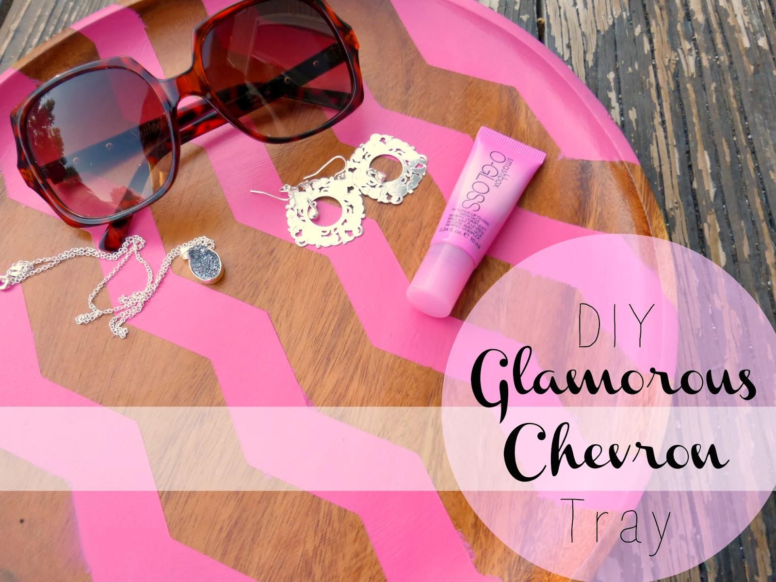 http://www.domesticblisssquared.com/2013/10/diy-galmorous-pink-chevron-tray.html