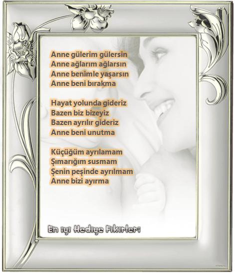 Anneye Şiirler