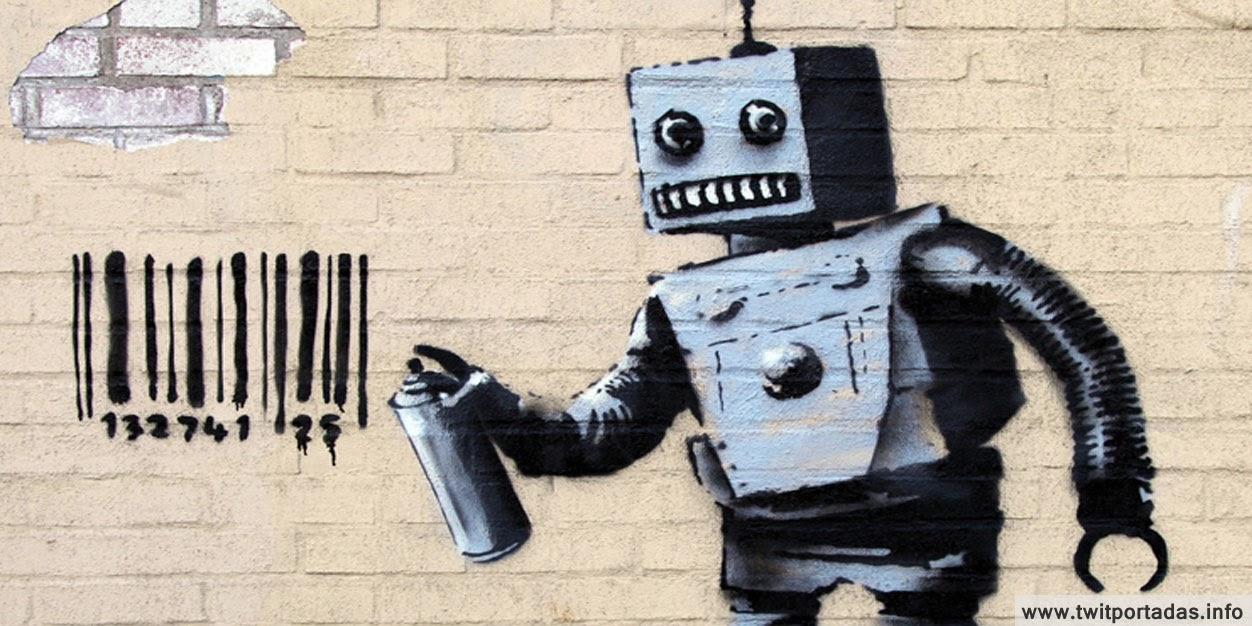 El robot de Bansky