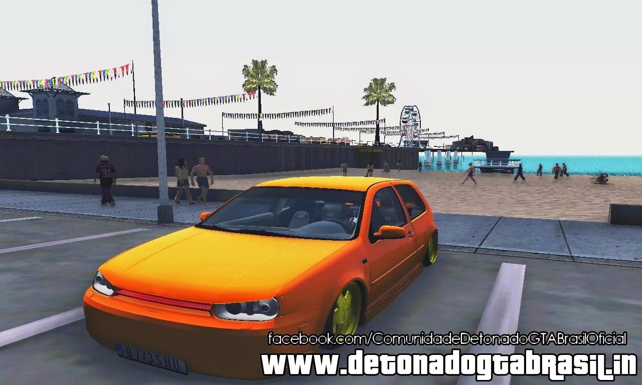 GTA SA - VW Golf 4 R32 Low v2