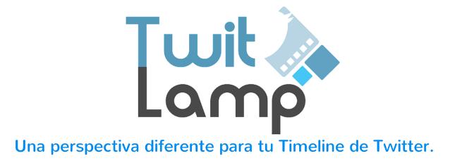 TwitLamp una perspectiva diferente de Twitter