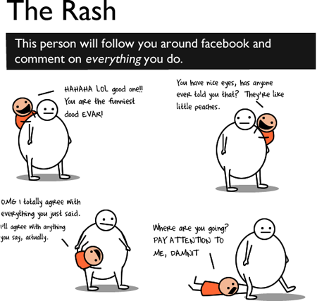 the rash funny facebook share