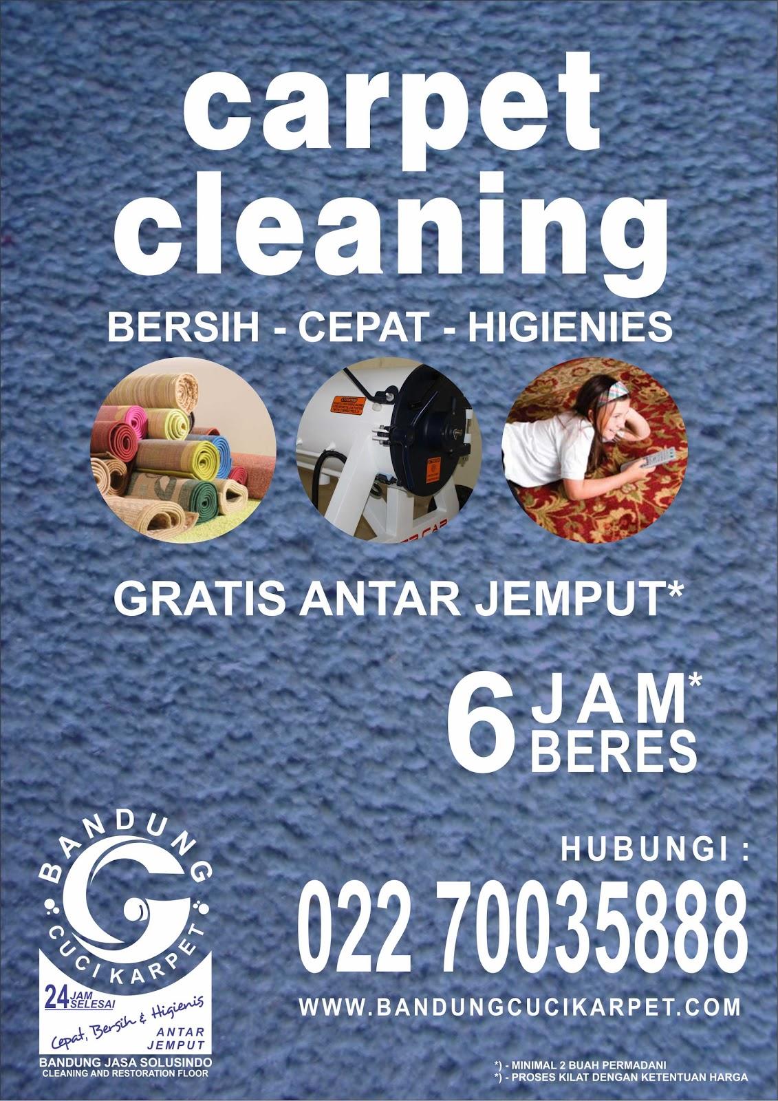 Cuci Karpet di Bandung Jemput Cuci Karpet Bandung