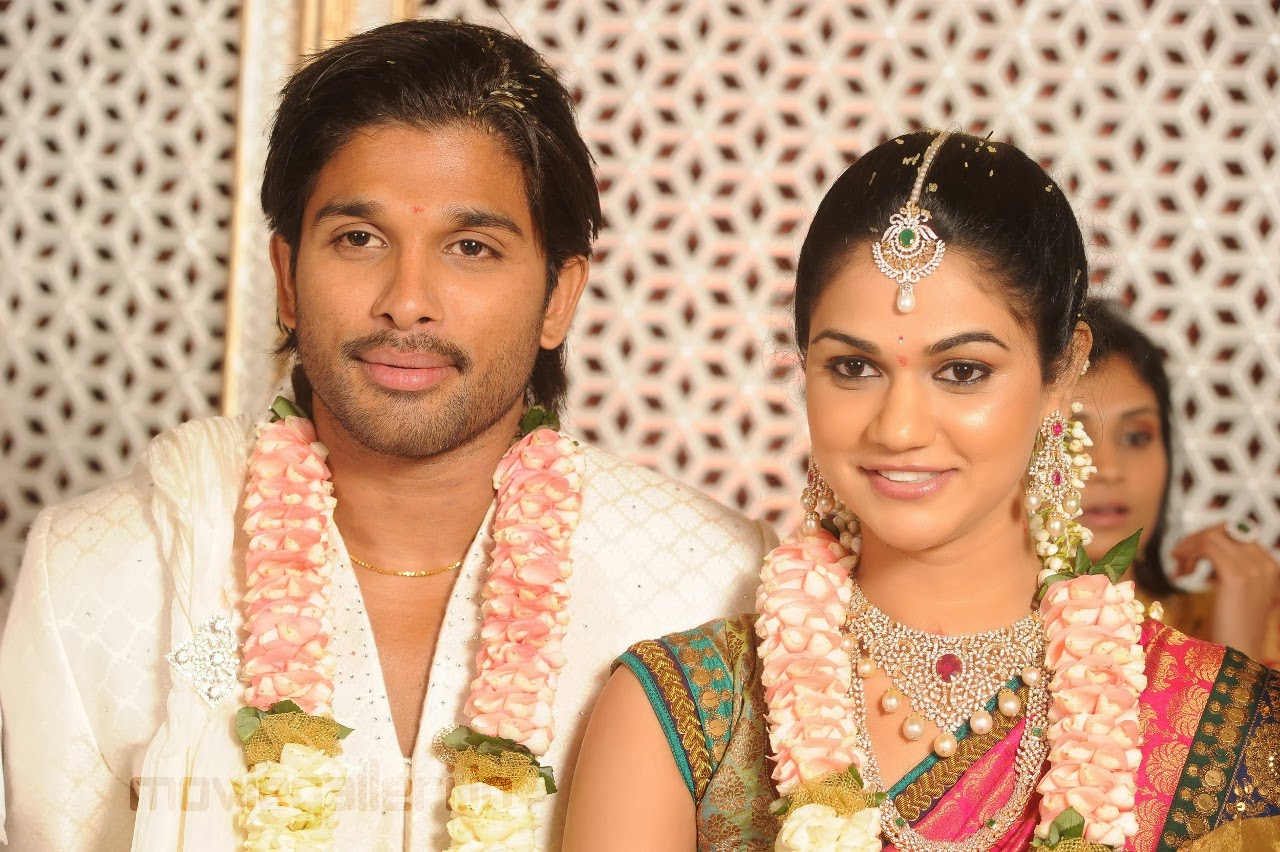 Allu Arjun and Sneha blessed with a Baby boy