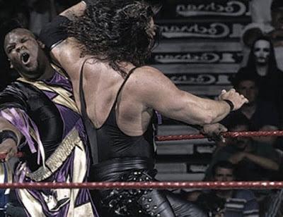 WWF SummerSlam 1995 Diesel Elbow King Mabel WWF Championship