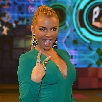La hermosa modelo y actriz venezolana, Marjorie de Sousa