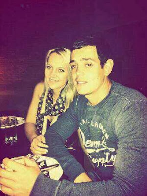 Quinton De Kock With His Girlfriend Latest PicQuinton De Kock 2013