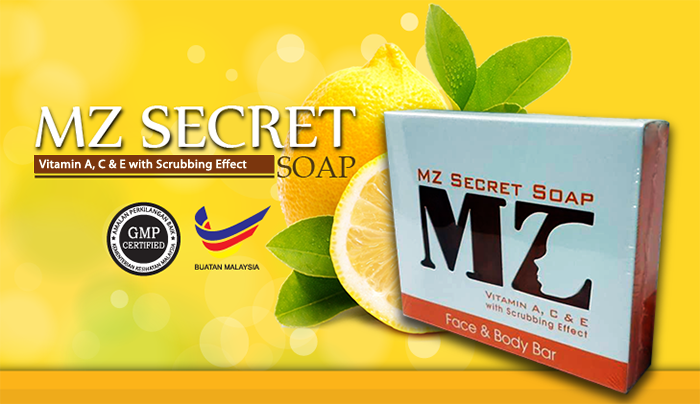 MZ Secret Soap Sabun Vitamin A C  E