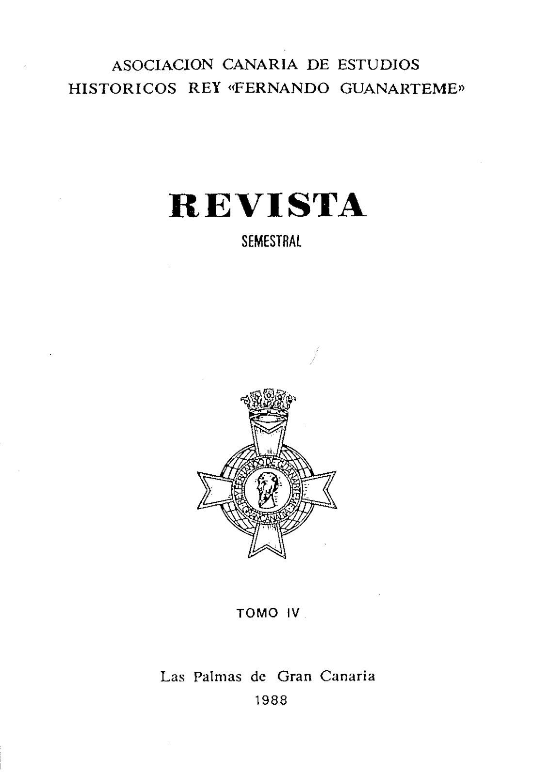 Revista Tomo IV