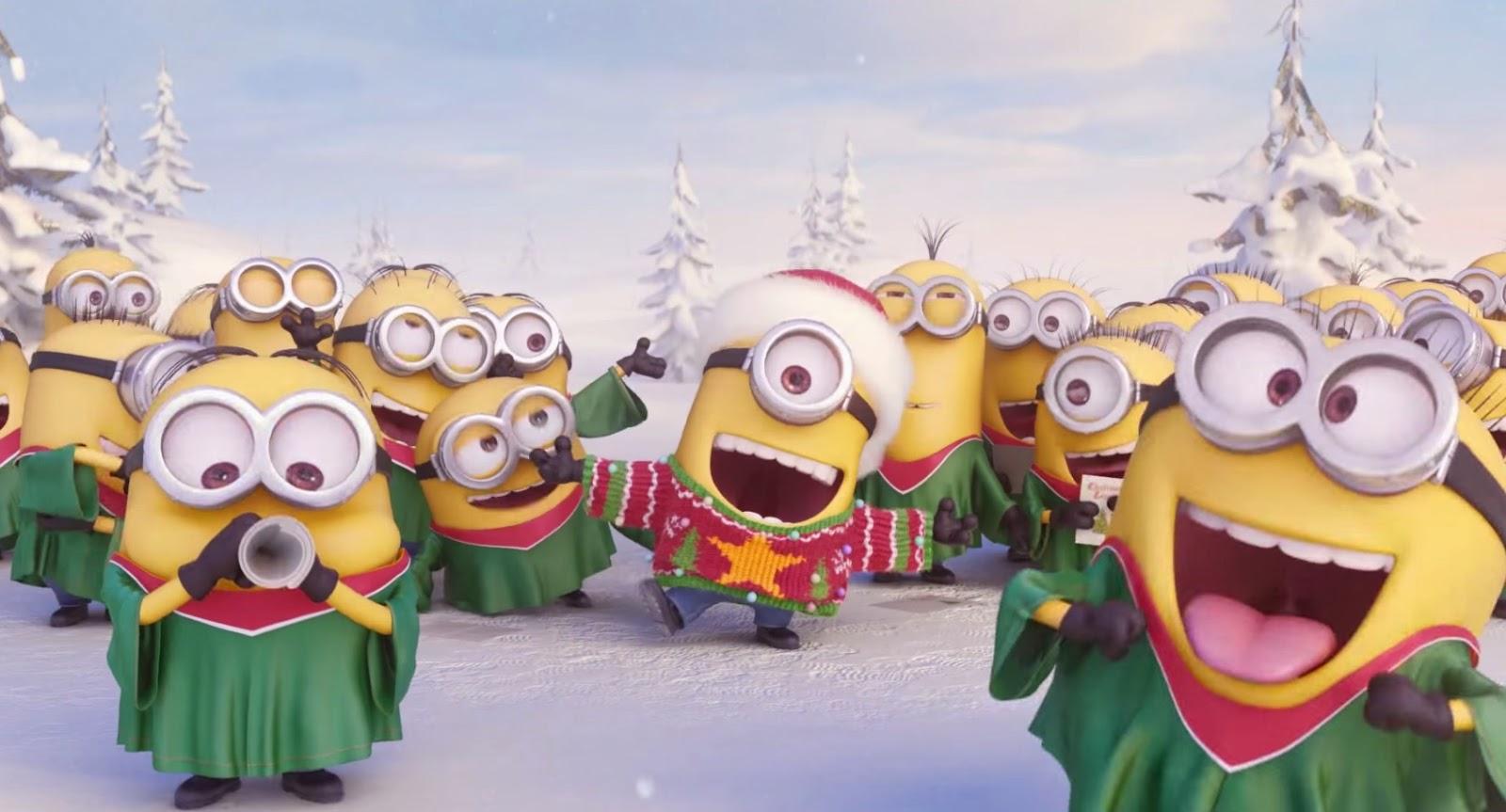 ってことでミニオンたちからも「メリークリスマス ...