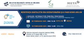 Sesiuni interactive în contextul Zilei Siguranței pe Internet 2021