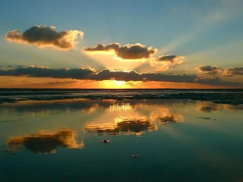 amanecer espectacular