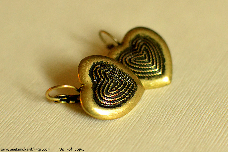 heart-shaped earrings womens jewelry vintage inspired shopping inexpensive target shopping gifts
