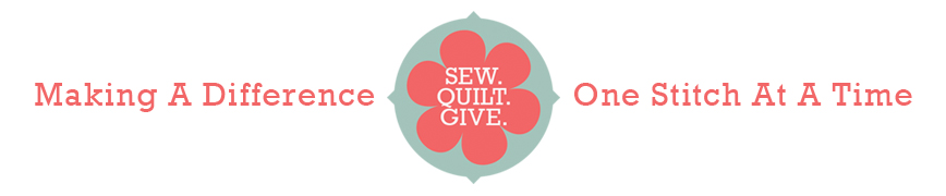 Sew.  Quilt.  Give.