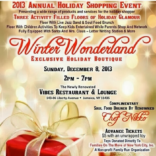 Winter Wonderland Holiday Shopping Event