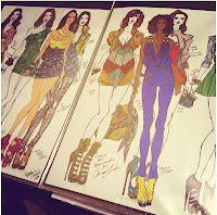fashion sketches fashion design illustration sketchbook jerron couture