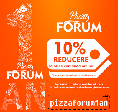 Pizza Forum, 1 an de existenta