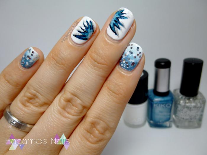 Nail Art Invernal. Amanda Reto Fairy's Tale Nails. Hagamos Nails