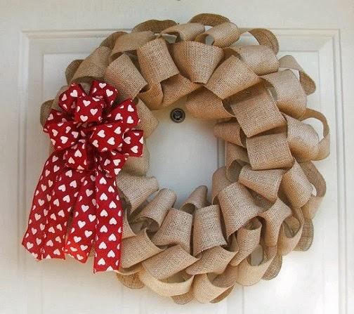dishfunctional designs valentine 39 s day wreaths ideas beautiful inspiration. Black Bedroom Furniture Sets. Home Design Ideas