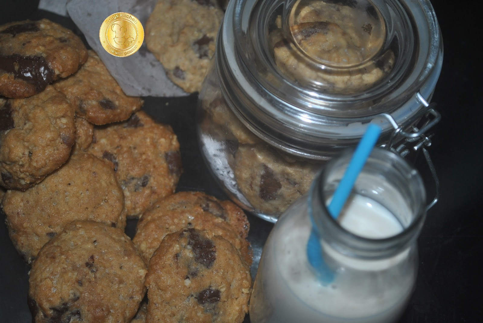 Patyskitchen Salted Chocolate Chunks Cookies