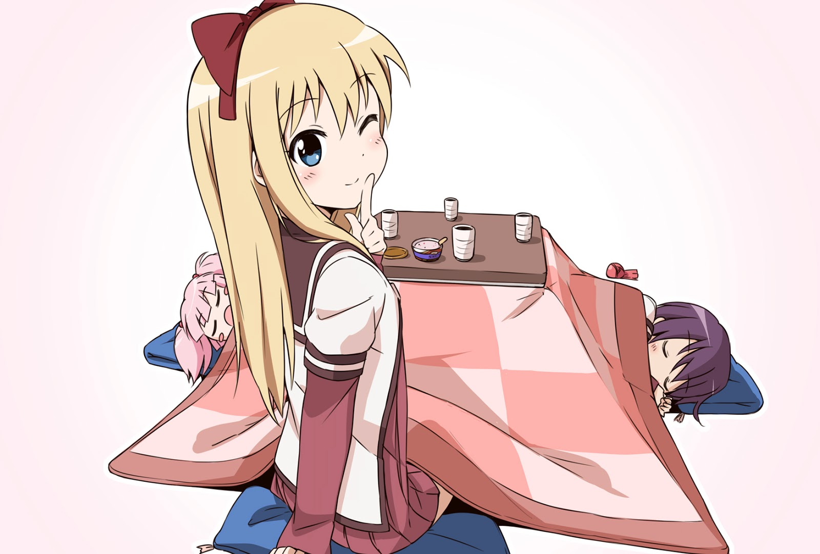 anime, Yuru Yuri, Anime Girls Wallpapers HD / Desktop and