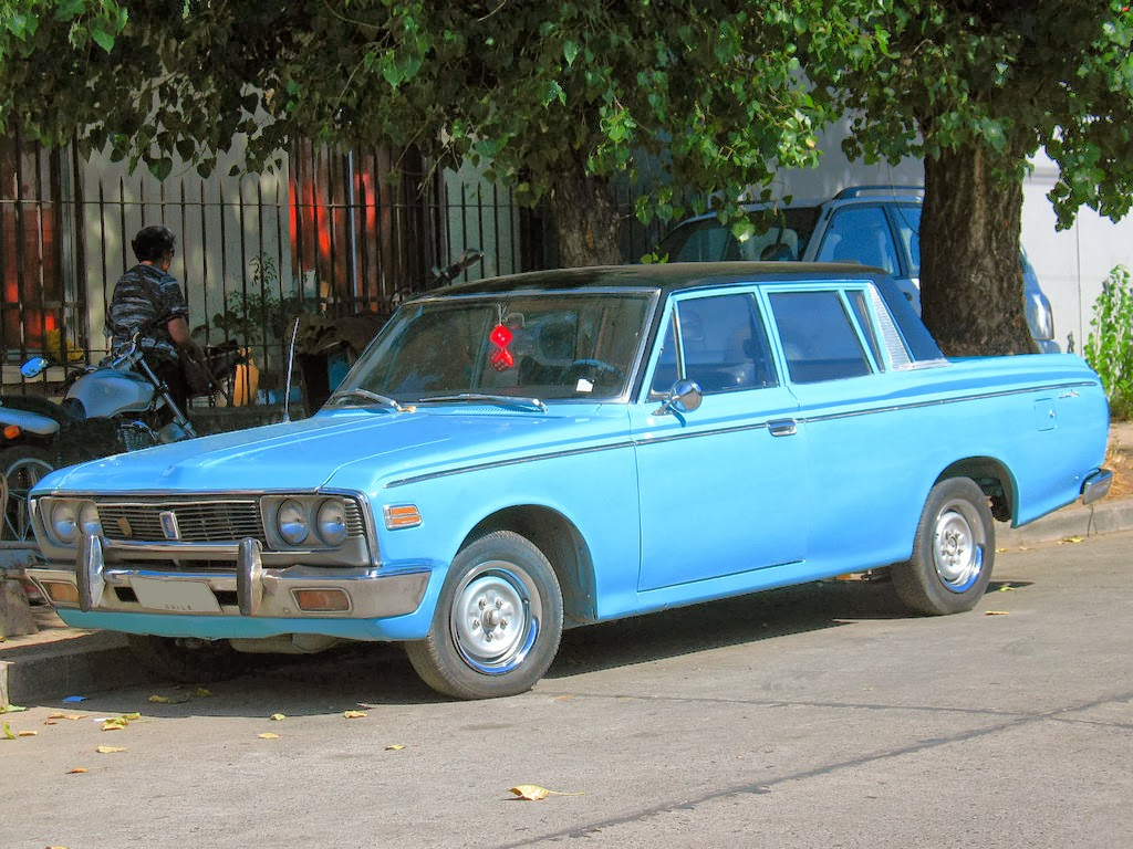 Toyota crown s50 double cab pickup 1969 facelift