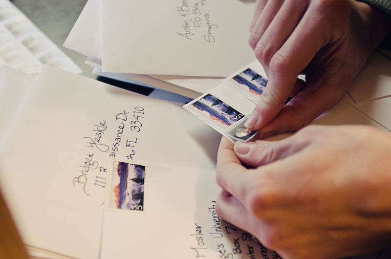 she couldnt have been any more friendly it was such a pleasant experience we left over the moon excited about the invitations each other - Hand Cancelling Wedding Invitations