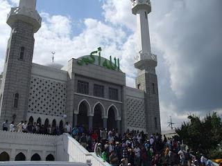 masjid di seoul kore selatan