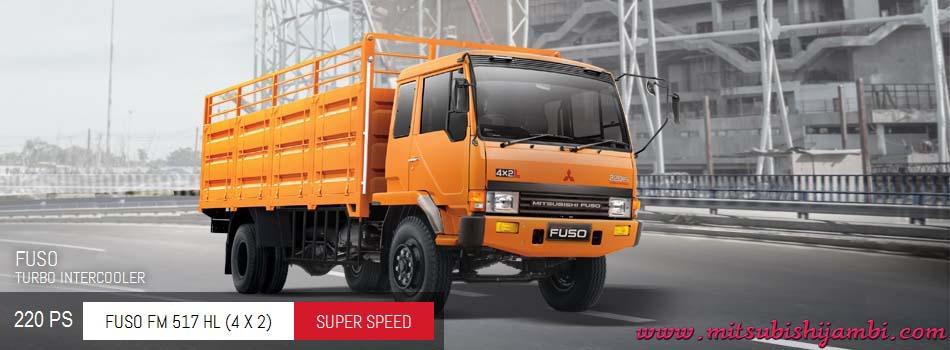 Harga Mitsubishi Fuso FM 517 HL (4X2) 220 PS Jambi | Harga Termurah | Proses Kredit Mudah