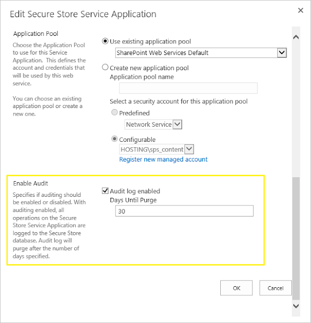 audit in sharepoint 2013 central admin