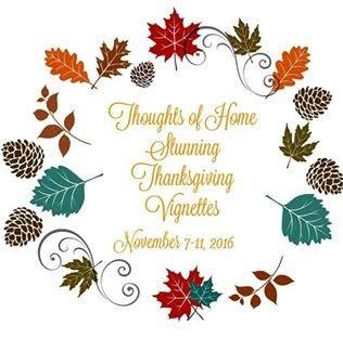 Thanksgiving Vignette Tour
