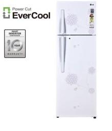 Buy LG GL-P372RPJM(BW) 335 L Double Door Refrigerator for Rs.31563 at Flipkart