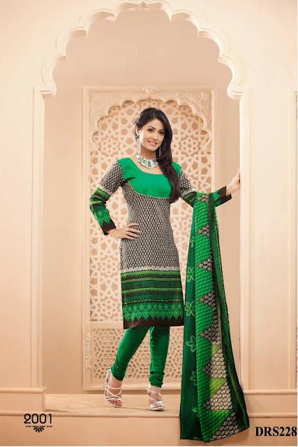 Hina Khan Exclusive Cotton Dress Material