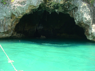 the cave in Sipalay City
