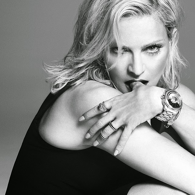 Madonna is the star of the Versace Spring/Summer 2015 Campaign