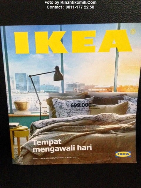 Buku Katalog IKEA 2015 - IDR 25.000 (Gress / Like NEW)