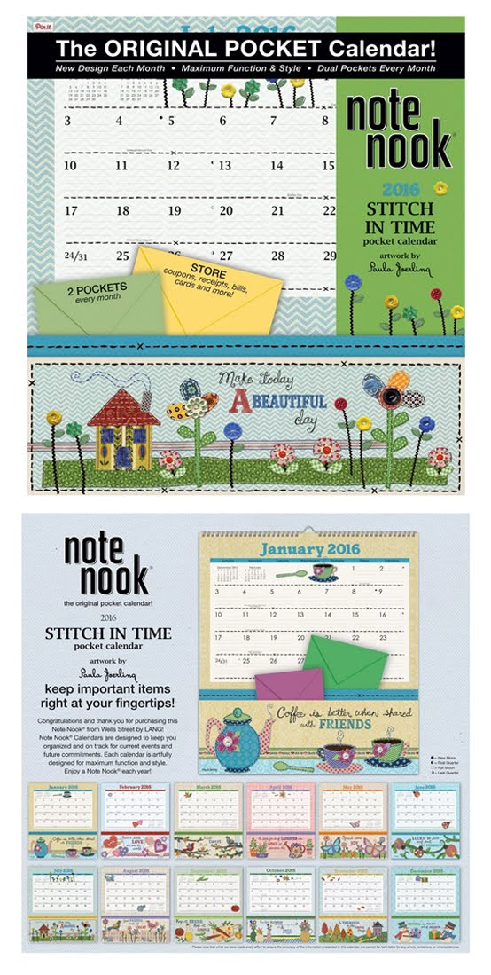 "2016 ""A Stitch in Time"" Calendar"
