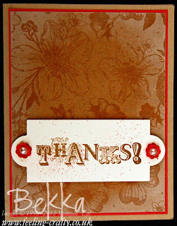 Sale-A-Bration Sneak Peek - Vintage Verses - by Stampin' Up! Demonstrator Bekka Prideaux - find out how to get this stamp set for free on her blog