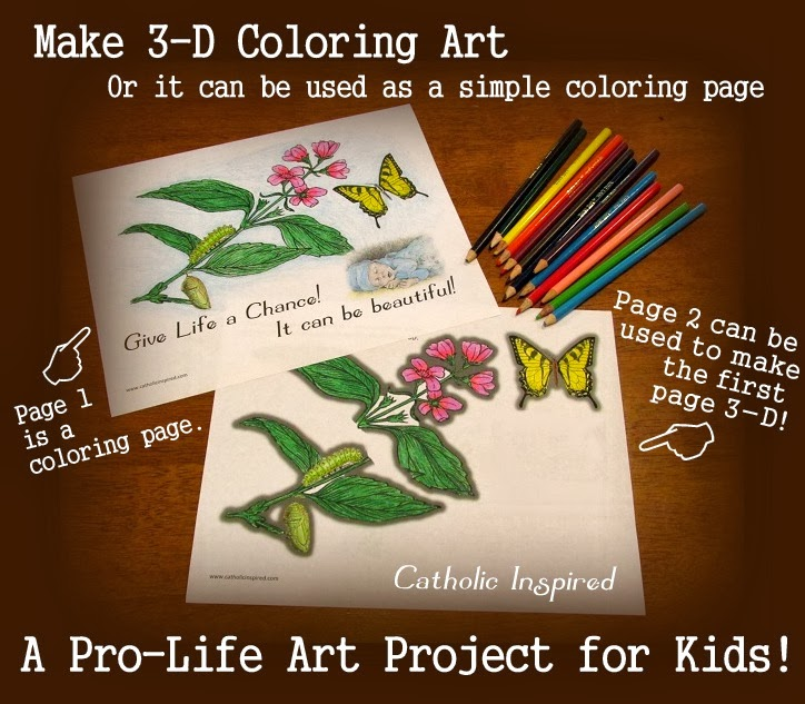 ProLife 3D Coloring Art Project