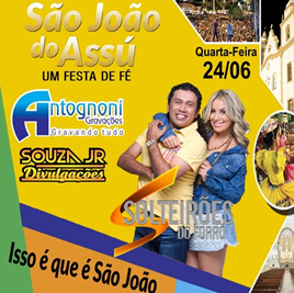 SOLTEIRÕES DO FORRÓ NO SJA 2015