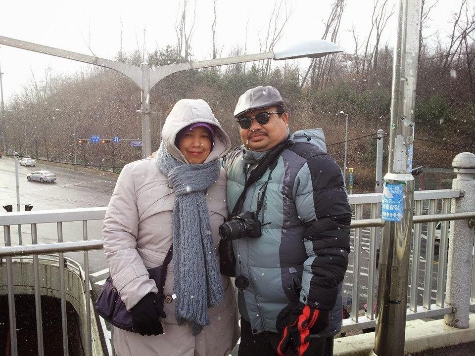 Percutian Musim Sejuk, Seoul, Korea Selatan