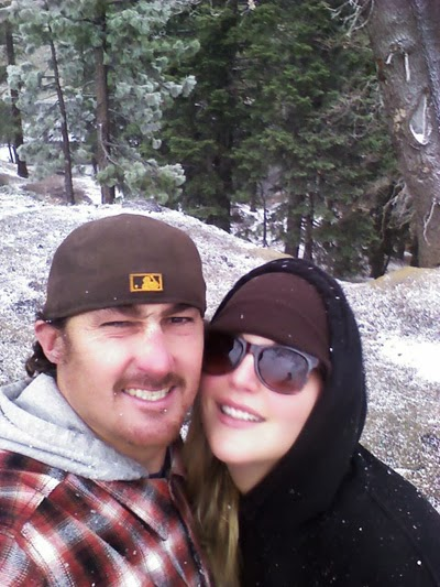Selfie from Mountain High – Mom and Dad had a fun time.