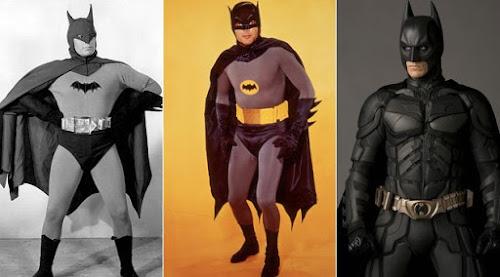 Batman V Superman a Evolução do uniforme do Batman