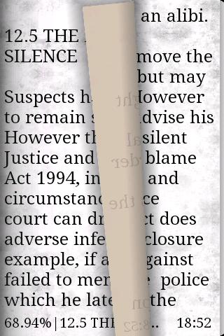Scroll effect