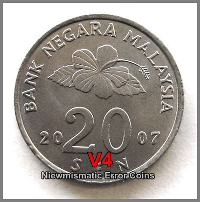 Malaysia 2007 20 Cents