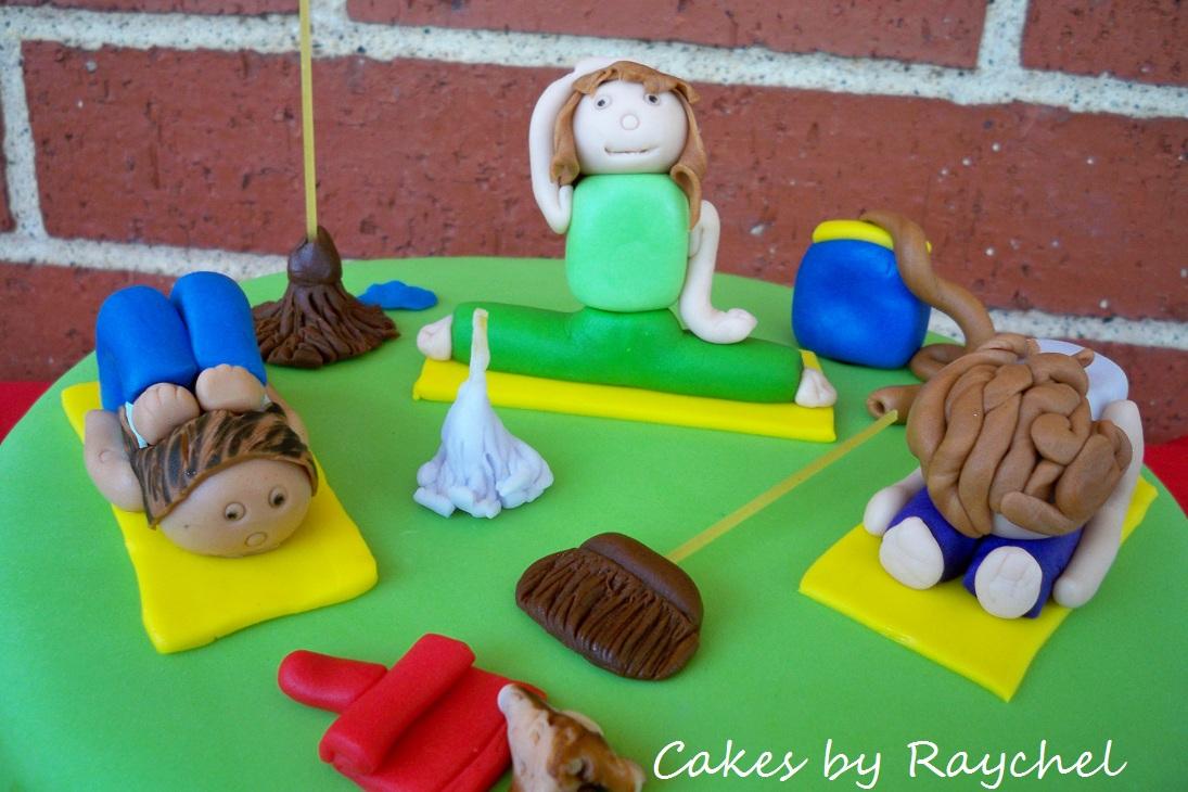 My Creative Way Yoga Cleaning Cake
